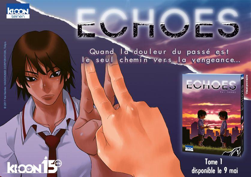 Echoes, le nouveau manga de Kei Sanbe chez Ki-oon !
