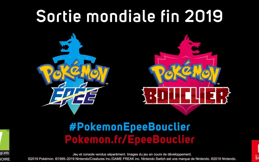 La huitième génération dévoilée avec Pokemon Epée et Bouclier !