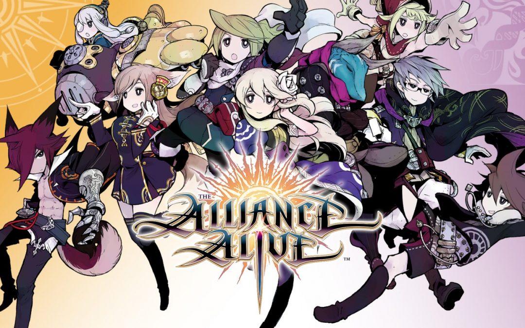 Le J-RPG The Alliance Alive porté sur Switch, PS4 et PC !