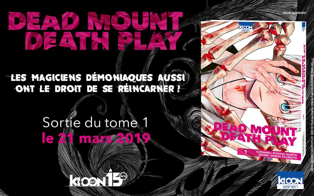 Chronique : Dead Mount Death Play, entre fantasy et réalité !