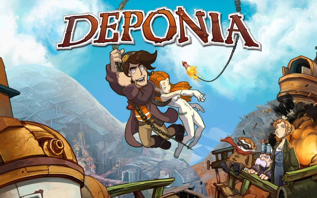 Test : Deponia sur Nintendo Switch !