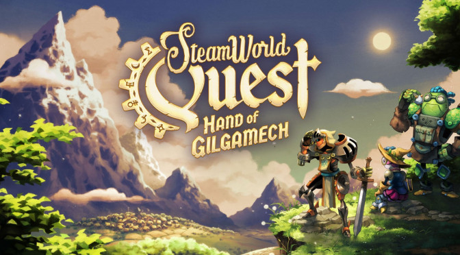 Test : SteamWorld Quest : Hand of Gilgamech, sur Switch !