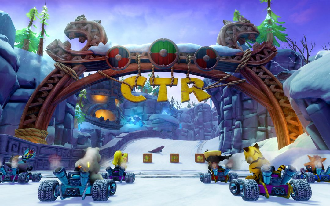 Test : Crash Team Racing : Nitro-Fueled, en version PS4 !