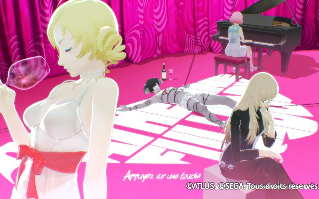 Test : Catherine : Full Body, version PS4 !