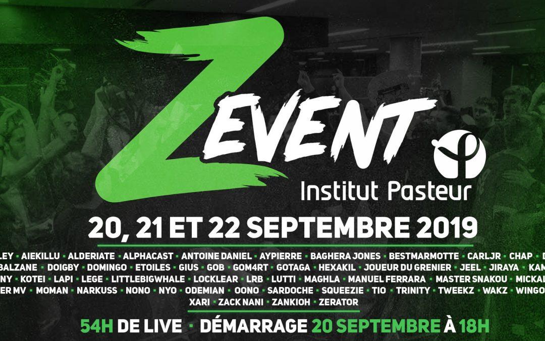 Le Z Event de Zerator récolte plus de 3.5 millions d'euros !