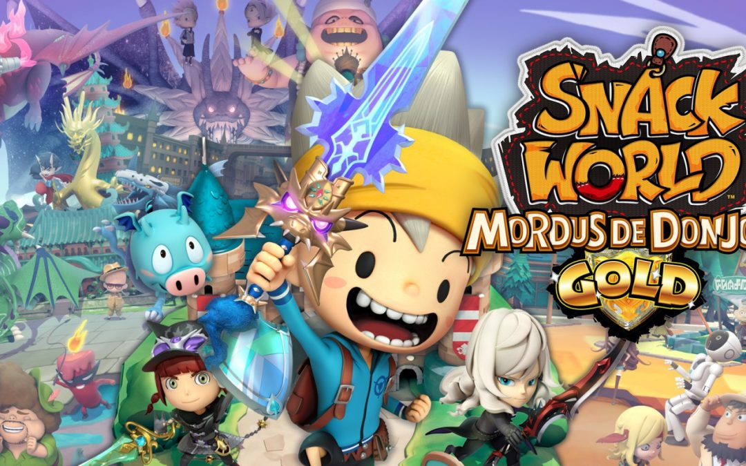 Snack World : Mordus de donjons enfin daté pour l'Occident !