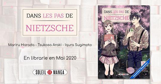 Le manga Dans les pas de Nietzsche annoncé chez Soleil manga !