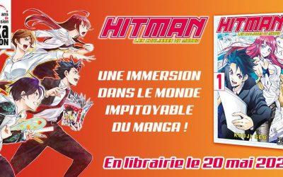 Hitman, les coulisses du manga interprétées par Kouji Seo chez Pika !