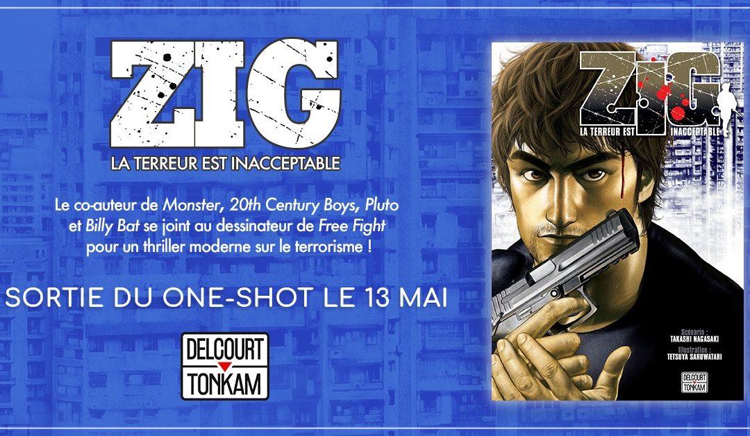 SARUWATARI Tetsuya et NAGASAKI Takashi s'associent pour sortir Zig !