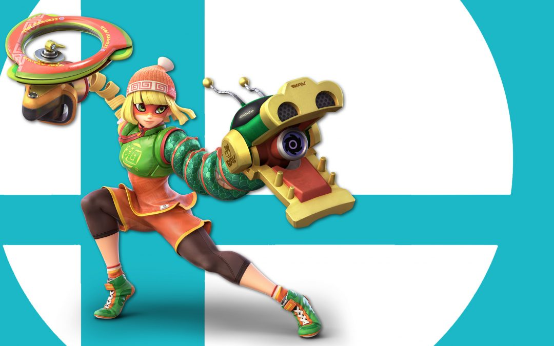 Super Smash Bros Ultimate : On teste Min Min et ses poings ressorts !