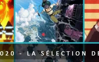 Top 5 Animes 2020 : la sélection de Lorelei !