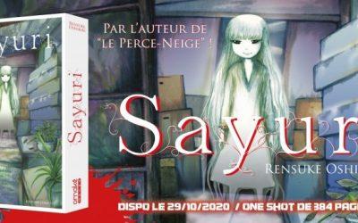 Chronique: Sayuri, « Décuple ta rage de vivre et … bats-toi ! »