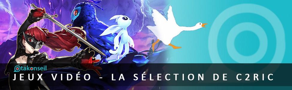 Jeux video 2020 – La sélection de C2ric !