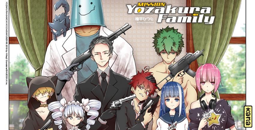 Chronique : Mission Yozakura Family arrive chez Kana !