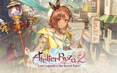 Atelier Ryza 2, Lost Legends & The Secret Fairy sur Nintendo Switch !