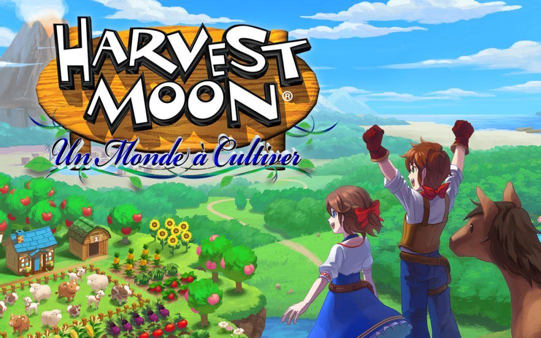 Test : Harvest Moon – un Monde à Cultiver sur Switch !