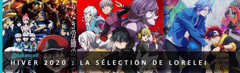 3 anime de l'hiver 2021 : La sélection de Lorelei !