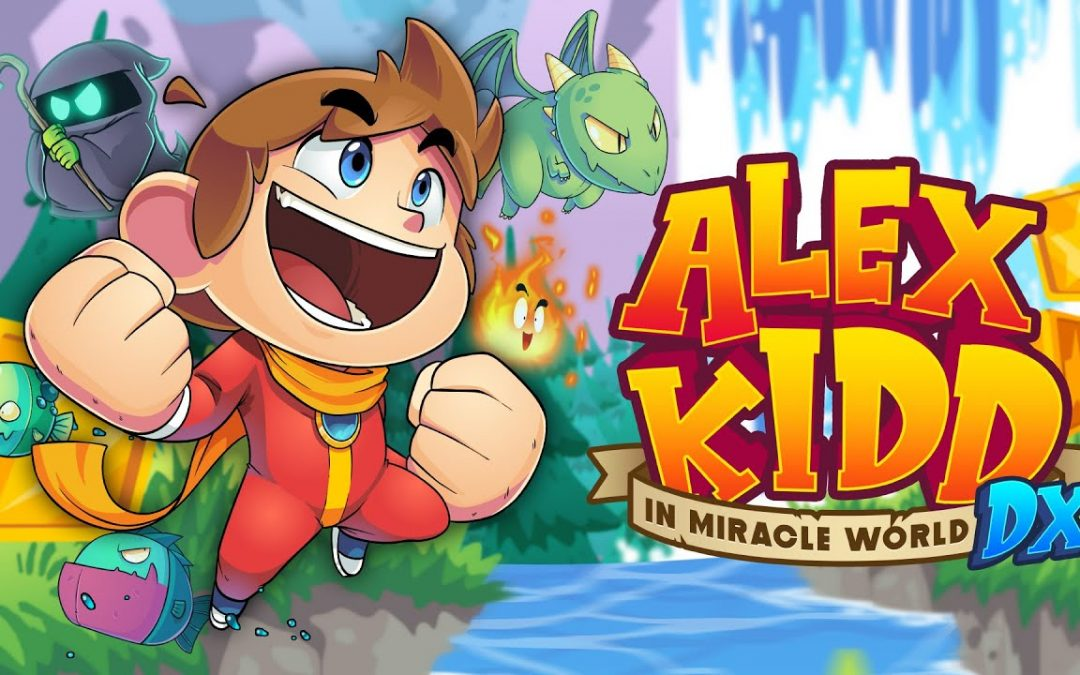 Test : Alex Kidd In Miracle World DX sur Playstation 4 !