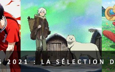 5 anime du printemps 2021 : La sélection de Lorelei !