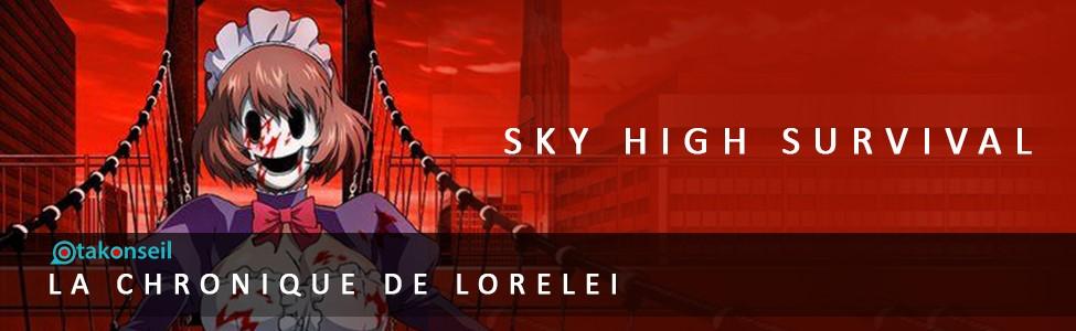 Mon avis sur… l'anime Sky-High Survival !